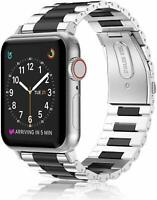 For Apple Watch Series 3 2 1 42mm Stainless Steel Metal Band Strap Bracelet