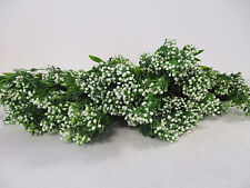 Pack of 6 Artificial Gypsophila Bushes - 40 cm - 5 Stems Per Flowering Plant