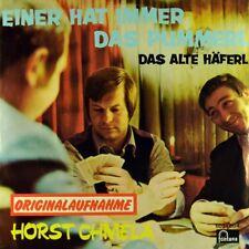 """7"""" HORST CHMELA Einer hat immer das Pummerl / Alte Häferl FONTANA Austropop 1973"""
