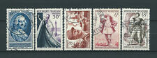 FRANCE - 1953 YT 940 à 944 - TIMBRES OBL. / USED - COTE 7,40 €