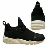 Puma BOG Blaze Of Glory Strap Filling Pieces Mens Black Trainers 361042 01 B97A