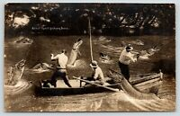 Lake Chautauqua NY~Exaggerated Fish That Wade Dreamed About For Mr Hulbert c1910