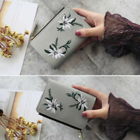 Women Girls Hot Leather Card Holder Small Purse Wallet Clutch Bag Ladies Handbag
