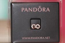 AUTHENTIC NEW PANDORA ROSE™ INFINITY PETITE CHARM 782178CZ GIFT BOX US SELLER