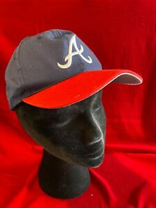 Outdoor Cap Co Atlanta Braves Youth Little League MLB Snapback Blue Red White