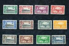 Sierra Leone GVI MH To 1 Pound (Nt 5034s
