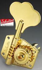 NEW Schaller tuners Machine head for BASS 3L2R BM Gold