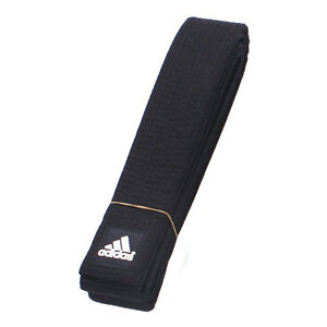 Adidas Taekwondo Black-Belt/Martial arts Black-Belt/Made in Korea/Karatedo Belt