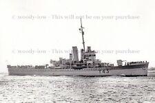 rp13589 - Royal Navy Warship - HMS Banff Y43 , built 1930 - photo 6x4