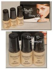 LUMINESS AIR - Airbrush Makeup - Brightening GLOW - G1 - 3 Bottles! *BRAND NEW*