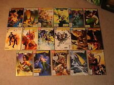 DC Comics Hawkman 1 to 17 issues including Slings and arrows part 1 & 2 - G9995