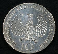"1972 F 10 DM Munich Olympics 62.5% Silver Commemorative ""Flame"" Design"