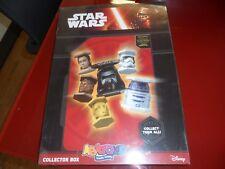 """""""Star Wars Abatons"""" Collector Box! New sigillato Ed.Panini 2015! Raccoglitore"""