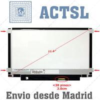 "B116XTN02.3 HW0A LCD Display Pantalla Portatil 11.6"" 1366x768 LED 30pin eDP mho"