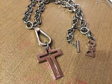 D&G Chunky Chain Necklace With Large Cross