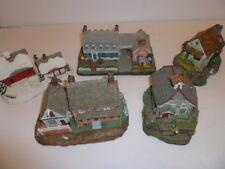 Hawthorne Cottege Lot of 5 Cottages, LeVan Studios, Hand Numbered Limited ed.