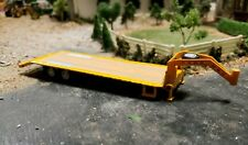GREENLIGHT GOOSENECK flat deck bed trailer 1/64 scale farm diorama EQUIPMENT dcp