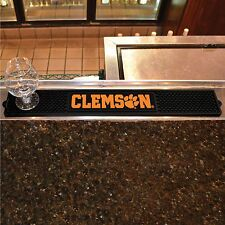 "Clemson Tigers 3.25"" x 24"" Bar Drink Mat - Man Cave, Bar, Game Room"