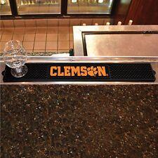 "Clemson Tigers 3.25"" x 24"" Bar Drink Mat - Man Cave, Bar, Game Room"