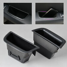 For 2008-2013 Benz W204 C Class-2*Rear Door Armrest Storage Box container holder