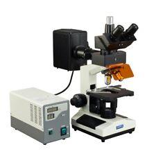 Omax 40x 2500x Upright Epi Fluorescence Biological Trinocular Microscope