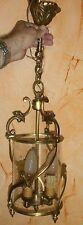 Lanterne en bronze doré style Louis XV - Superbe lustre à 3 lumières !