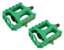 "New! Bicycle PVC Pedals 1/2"" Green 202-352"