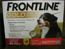New listing Frontline Gold Flea and Ticks Dog 89-132 lbs Red, 6 Monthly Doses