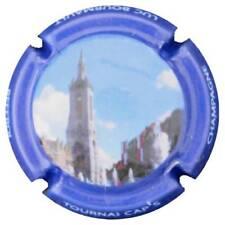 0109- CAPSULE DE CHAMPAGNE - Récoltant BOURMAULT Luc n°14d - TOURNAI CAP'S