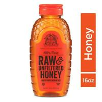 Nature Nate's 100% Pure Raw & Unfiltered Honey; 16-oz. Squeeze Bottle; Certified