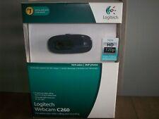 Logitech C260 Web Cam -16:9 Video & 3MP Photos