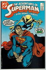 ADVENTURES OF SUPERMAN #442 1988 DIRECT EDITION DC COPPER AGE NICE!