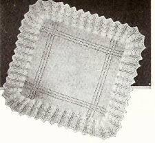 Knitting Pattern- Vintage baby first shawl - Read description before buying