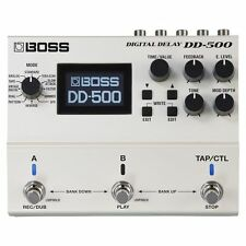 Boss Dd-500 Digital Delay Electric Guitar Effects Pedal DD500