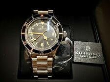 Steinhart Ocean One Vintage Automatic Men's Watch 42mm Sapphire Crystal No Date