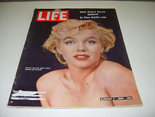 LIFE MAGAZINE AUGUST 7 1964 MARILYN MONROE ON COVER (492)