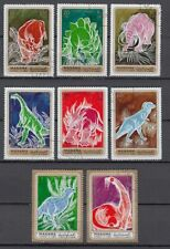 Manama 1970 used Mi.681/88 A Geschichte History Tiere Animals Dinosaurier