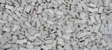 HO SCALE BRICKS - GREY, 3000 COUNT suit diorama, model train, war gamer