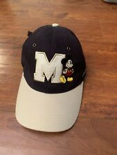 Mickey Mouse Hat Giant M Disney Baseball Cap Adjustable Disney World