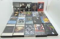 Lot of 20 Different Rock / Pop Classic Rock Cassette Music Album Collection