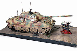 FORCES OF VALOR 801065A German SD.KFZ 186 JAGDTIGER model diecast tank 1945 1:32