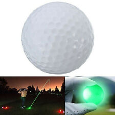 Wonderful Light-up Color Flashing Glowing LED Electronic Golf Ball For Night Gol