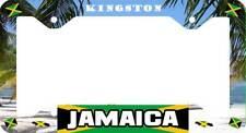 Kingston Jamaica Novelty Auto Car License Plate Frame Holder