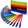Staedtler - Noris Club - 20 x WP20AC Fibre Tip Colouring Pens and Pencil Case