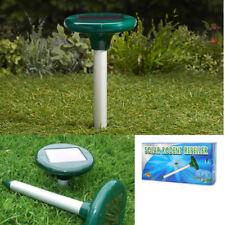 Solar Snake Repeller Multi Pulse Plus Ultrasonic Pest Rodent Repellent