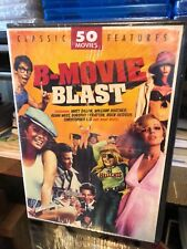 B-Movie Blast: 50 Movies (DVD) African Safari, Indian Paint, Tomboy, Galaxina...