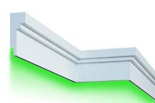 10 Meter LED Gesimsprofile indirekte Beleuchtung stoßfest 210x80mm, KC303 LED
