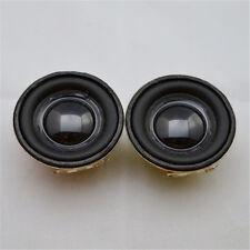 """10Pair/Lot 4Ω 4Ohm 3W 1.5"""" Full Range Audio Speaker Stereo Woofer Loudspeaker"""