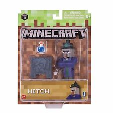 Minecraft - WITCH Action Figure With Accessories - NEW