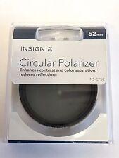 52mm Circular Polarizer by Insignia (NS-CP52)